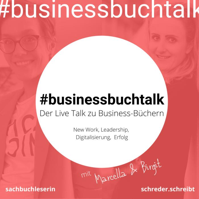 #businessbuchtalk. Der Instagram Livetalk zu Business-Büchern